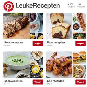 Pinterest Leukerecepten
